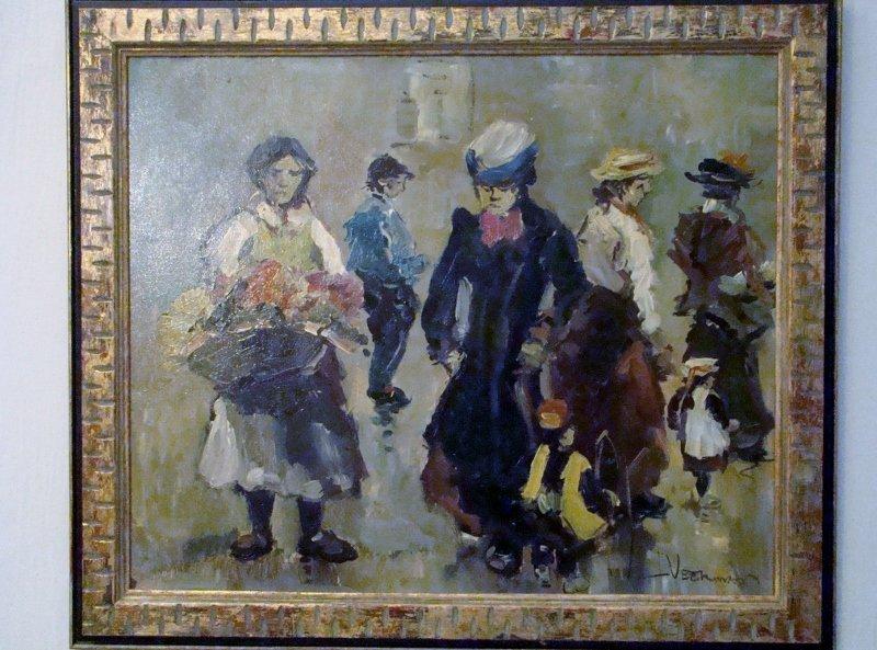 "Artist - Veerman...?(not legible), Oil on Canvas, 24"" X"