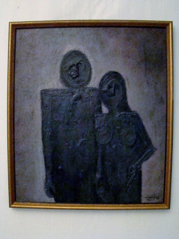 """Leguizamo (signed), Mexico - 1969, oil on canvas, 26"""""""
