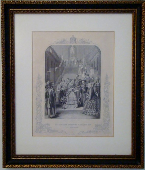 """""""Her Majesty receiving Napoleon III, at Windsor"""", Thoma"""