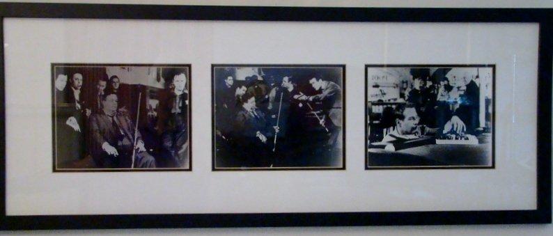 """""""The Hustler"""", Newman & Gleason signed black & white ph"""