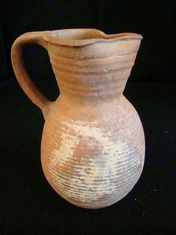 Hellenistic terracotta vessel, 400 AD. Great condition,