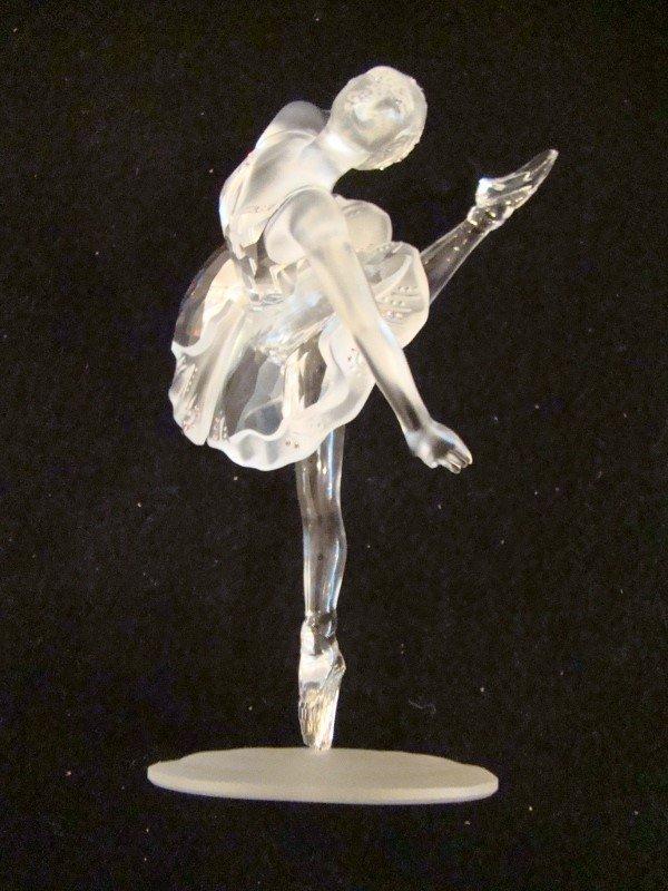 """Swarovski \""""Balerina\"""", Crystal & silver Figurine."""
