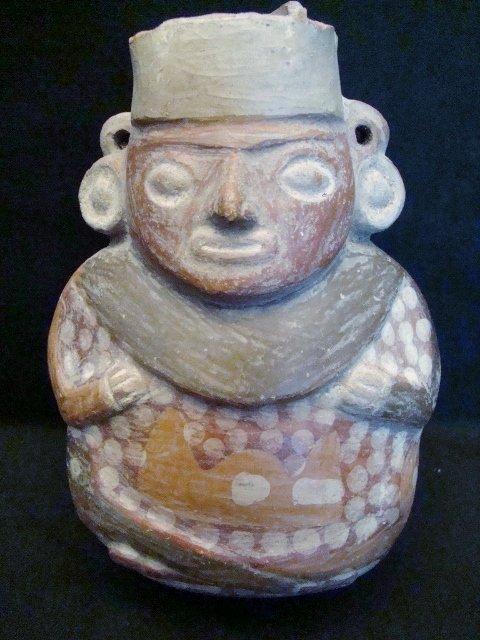 Peruvian Artifact. Digged Circa 1968 in Peruvian Tombs.