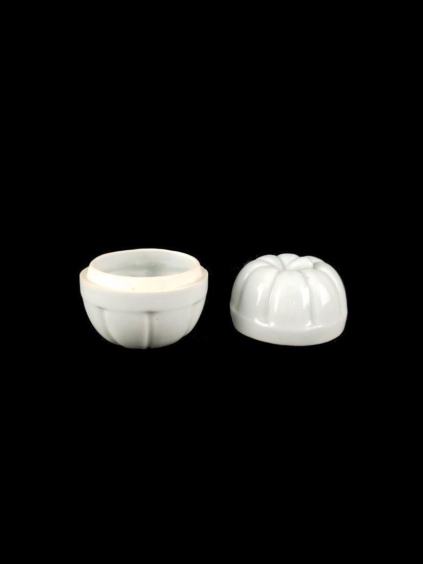 A Top Chinese Song Hutian Kiln Porcelain Box - 2