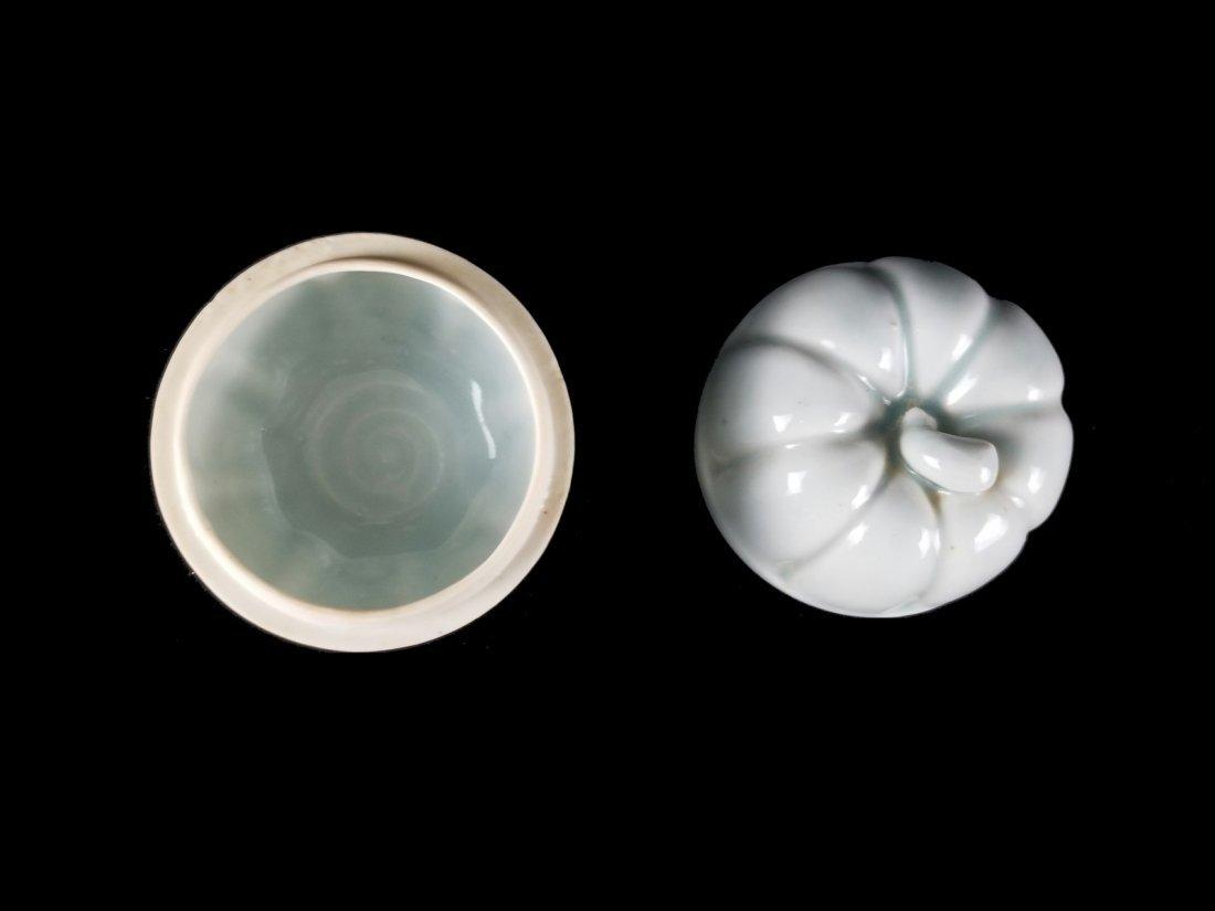 A Top Chinese Song Hutian Kiln Porcelain Box - 3