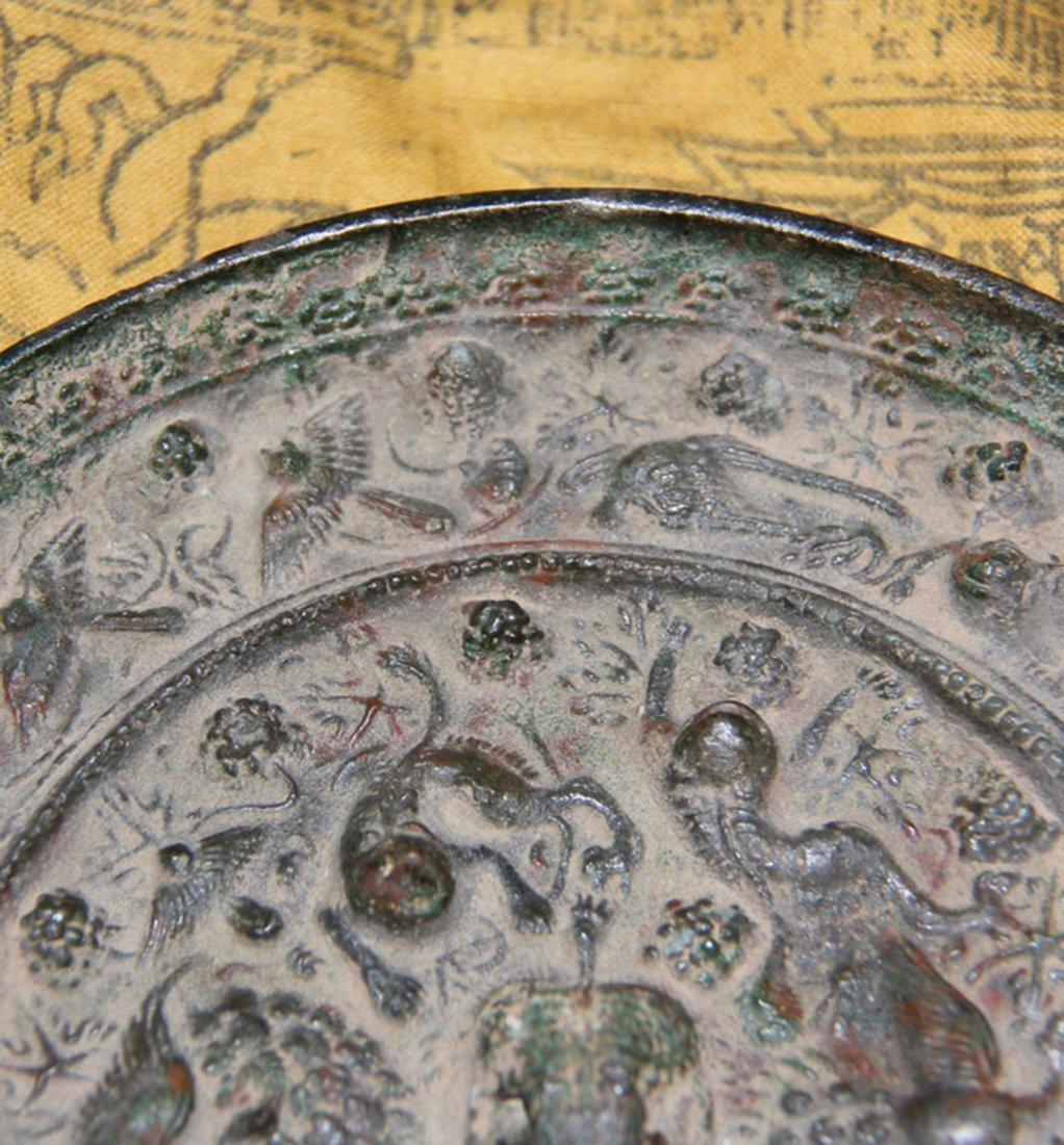 An Important Han Bronze Mirror - 2