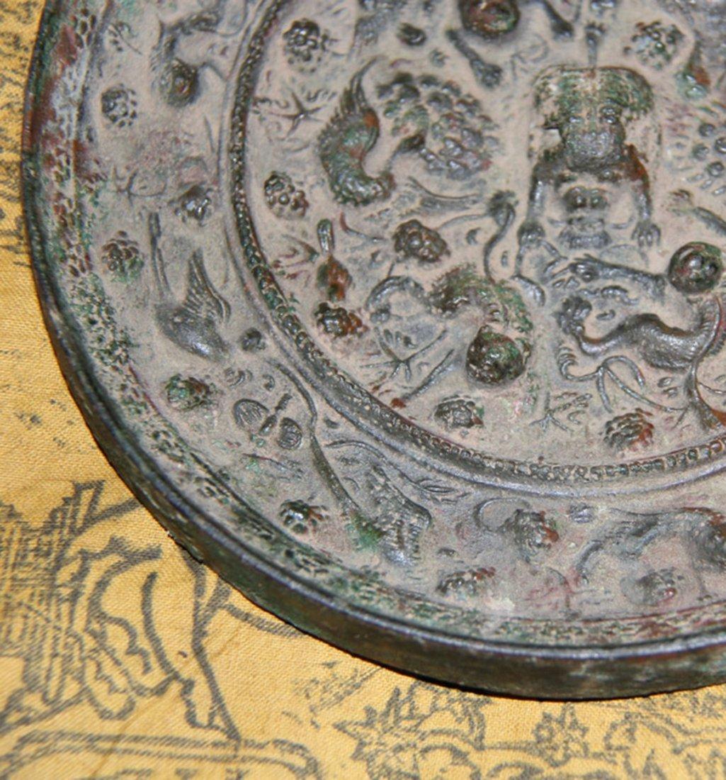 An Important Han Bronze Mirror - 4
