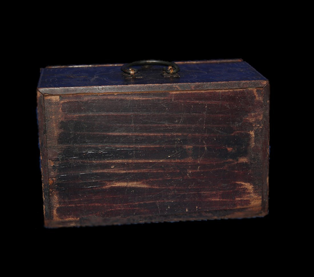 An Important Qing Rose Wood Lacquer Box - 8