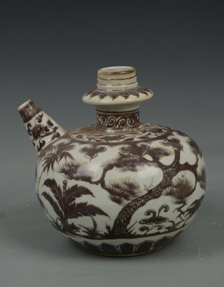 Ming Dynasty Chinese Jun Ci Porcelain Pot
