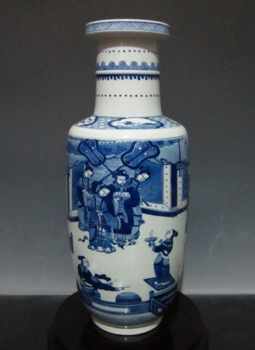 Fine and Rare Antique Qing Blue and White Porcelain