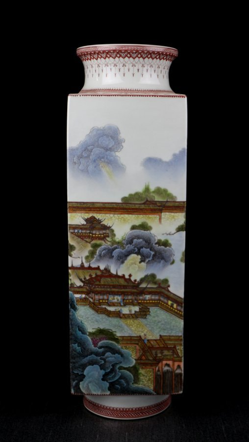 A Fine Chinese Republic Period  Porcelain Vase