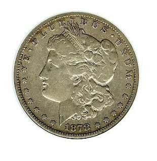 1878 8TF VAM 9 ANACS VF 20