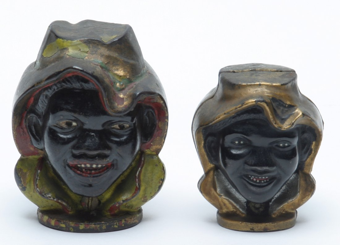 Black Americana Two Faced Boy Penny Banks