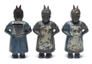 Black Americana Mammy with Spoon Penny Banks
