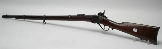 Sharpes Model 1863 52 Caliber Percussion Rifle.
