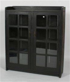 L. & J. G. Stickley 2-Door Bookcase.