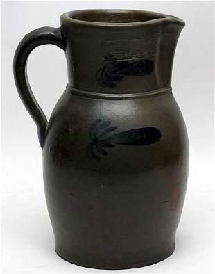 W. H. Lehew, Strasburg Stoneware Pitcher