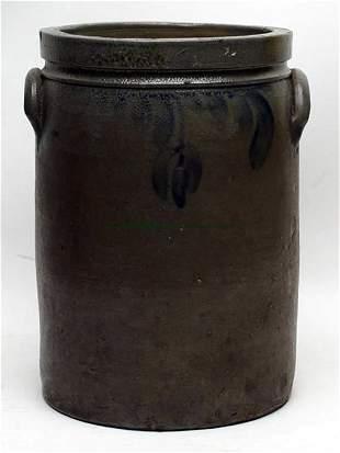J. M. Hickerson, Strasburg Decorated Stoneware Jar
