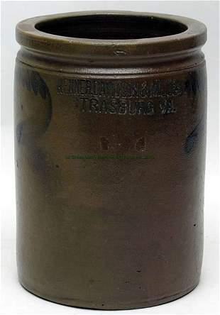 Kenner, Davidson & Miller, Strasburg 1 gallon Jar