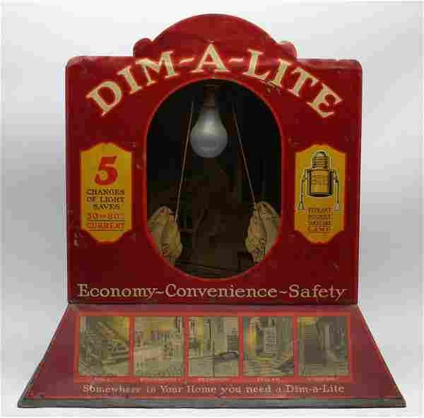 Rare Dim-A-Lite Mechanical Display