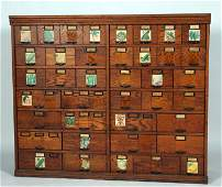 Country Store Seed Cabinet