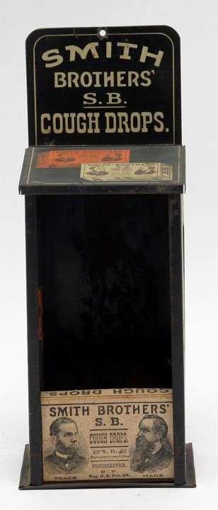 Smith Brothers Cough Drops Dispenser