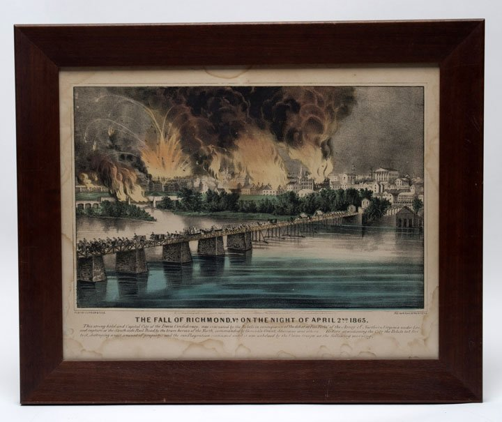 Fall of Richmond, VA, April 2, 1865