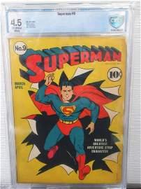 Superman #9 CGC 4.5