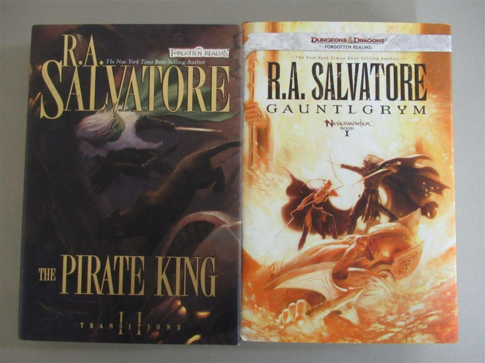 Gauntlgrym & Private King RA Salvatore Graphic