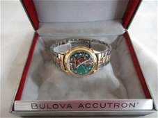"""Accutron """"Spaceview"""" Watch by Bulova 1961 14k Gold"""