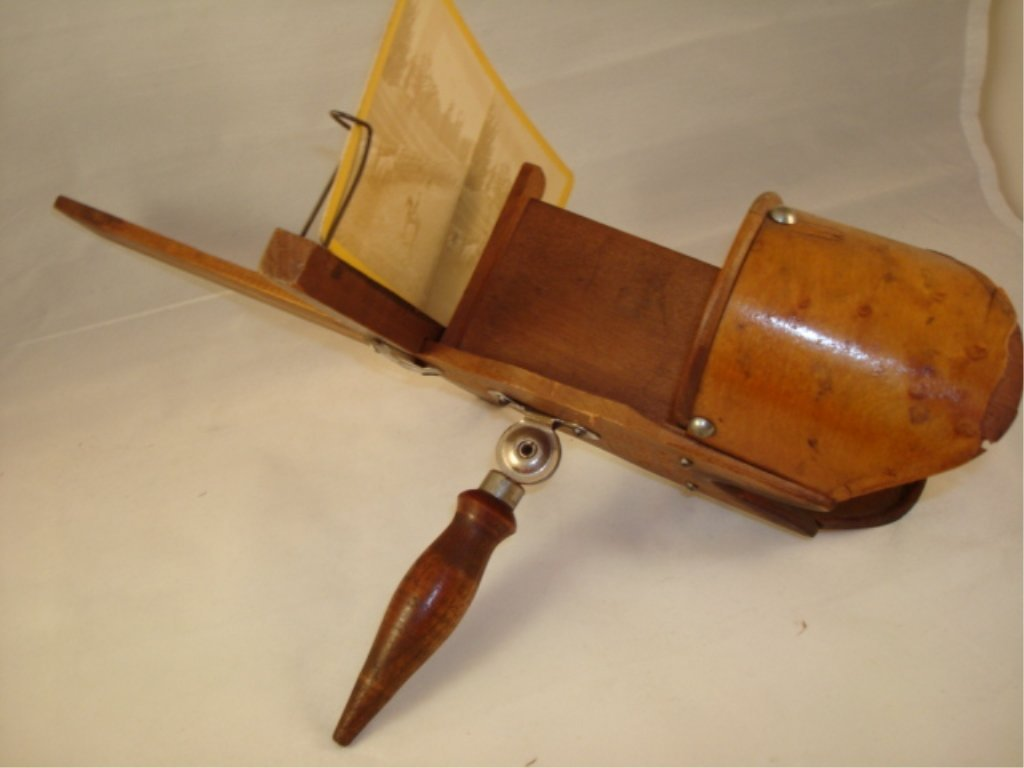 """Underwood """"The Perfectoscope"""" w Card patent 1883"""