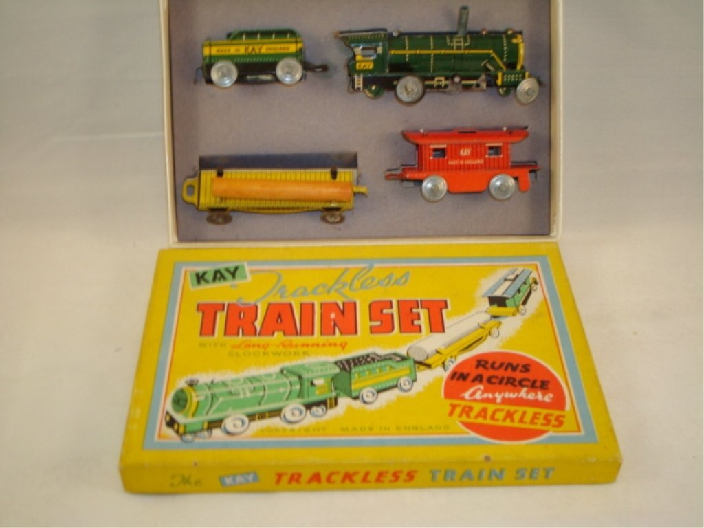 Kay Trackless Train Set in Box