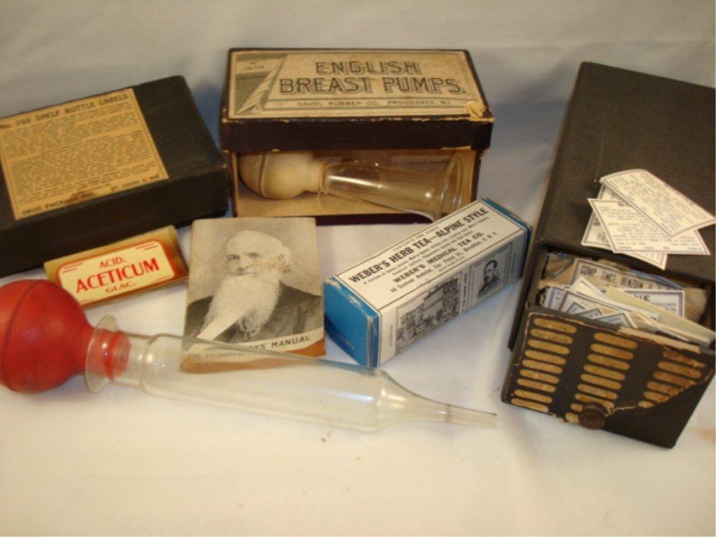 Misc Vintage Pharmacy/Medical Lot
