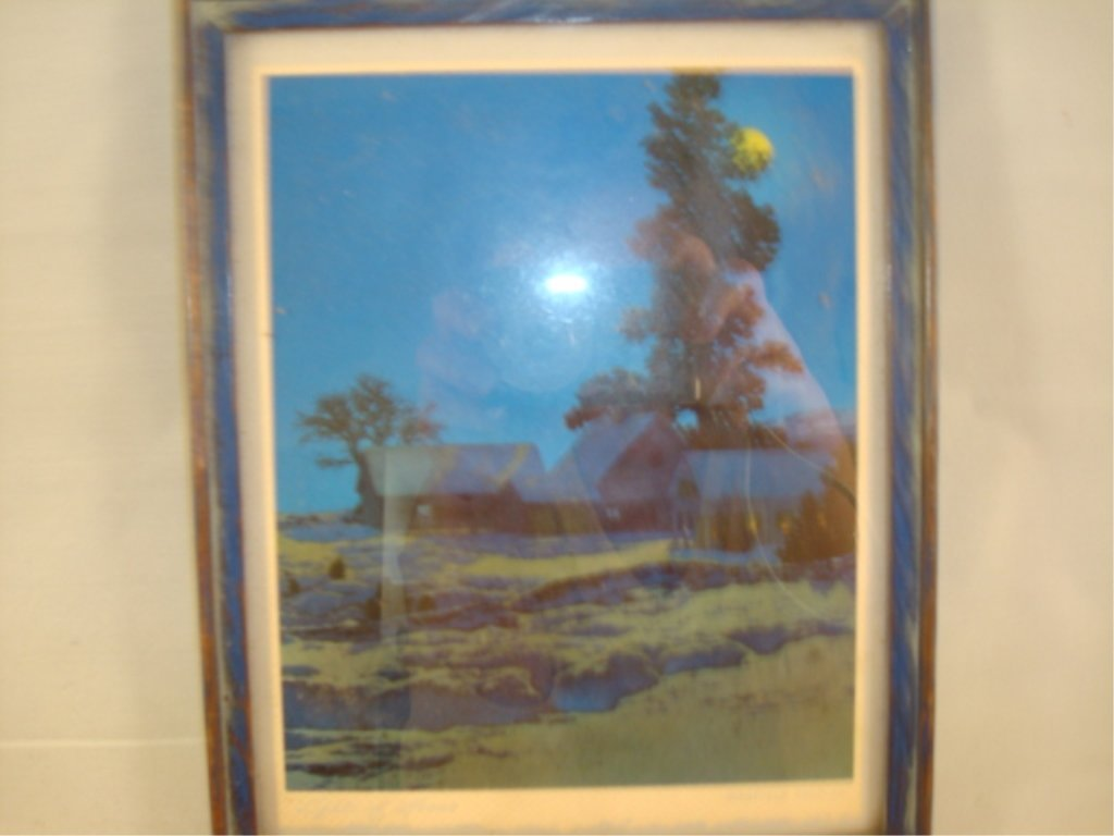"Maxfield Parrish print 'Light of Home' 6"" x 7.5"""