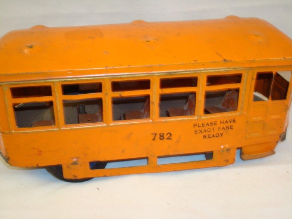 Kingsbury 782 Orange Trolley