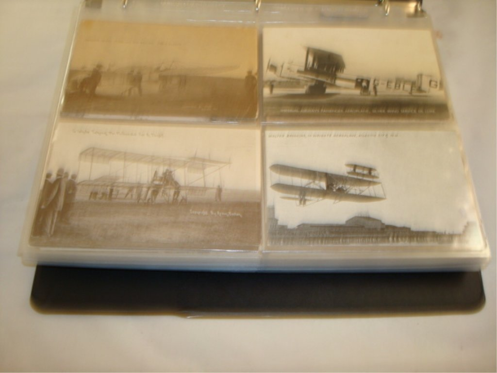 Lot of 146 Postcards Airplanes, Firehouse, Sewing