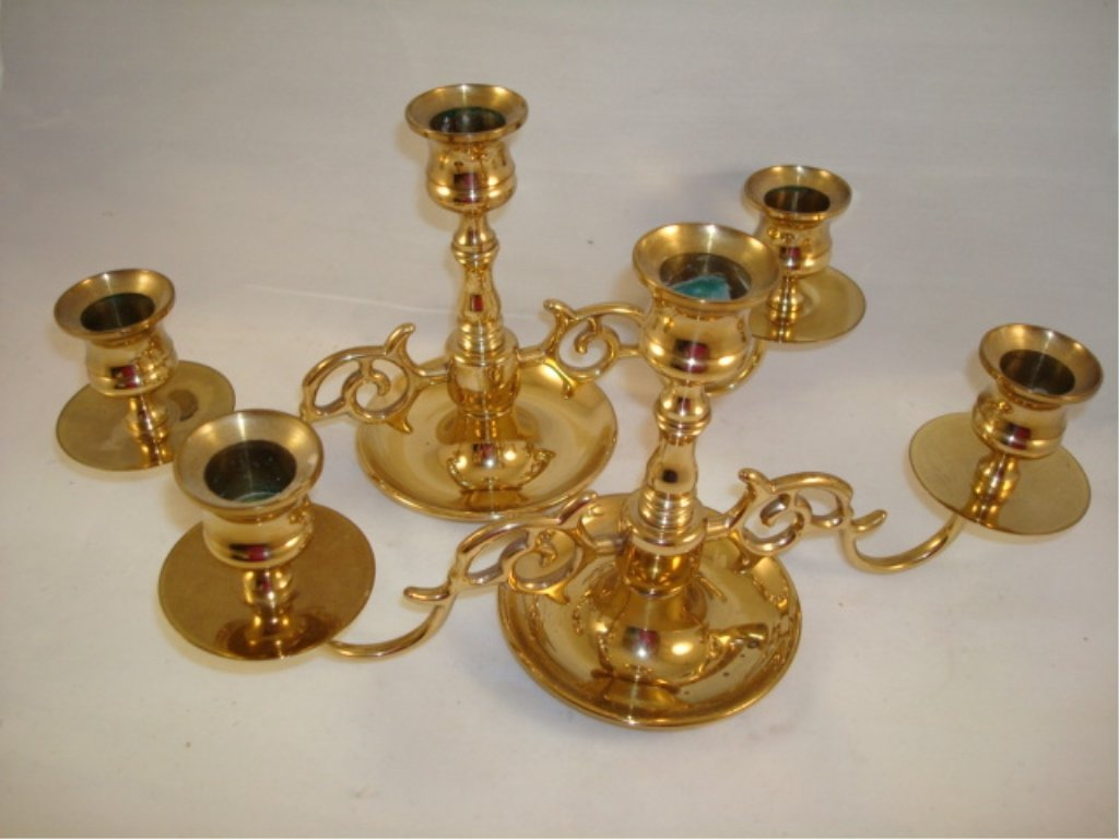 2 Baldwin Candelabra' s Gold Color