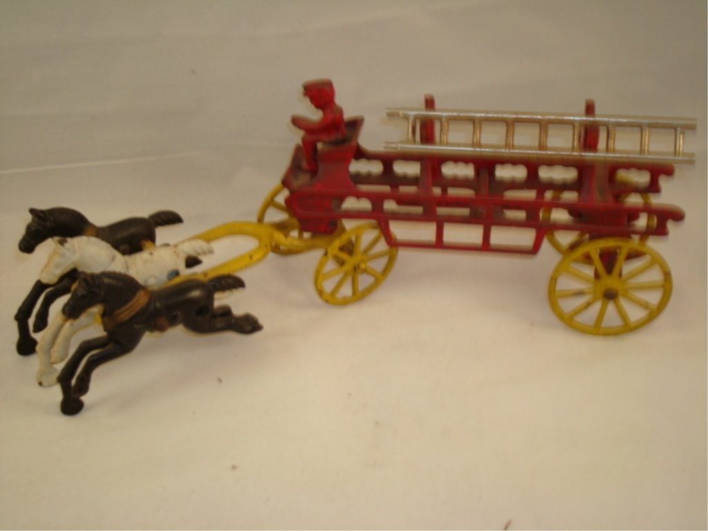 Cast Horse Drawn Fire Wagon Kenton?