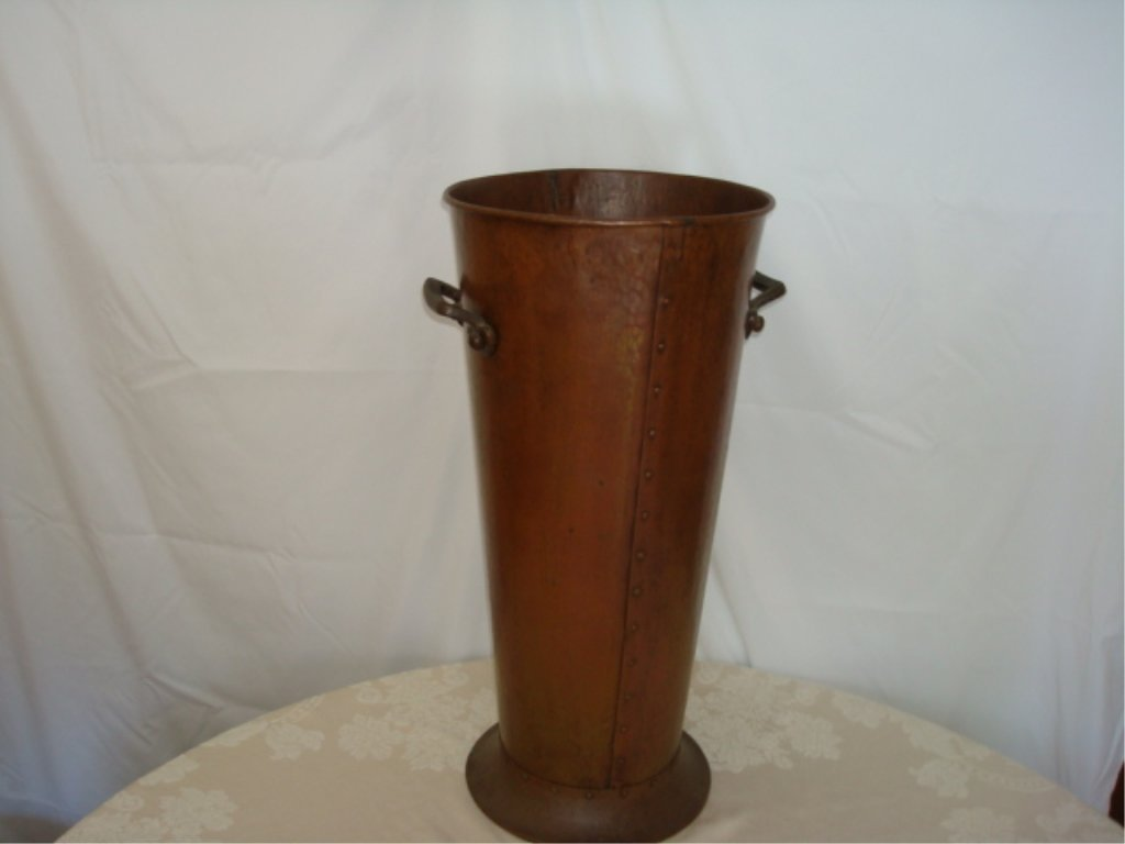 Handel signed Umbrella Stand with Insert