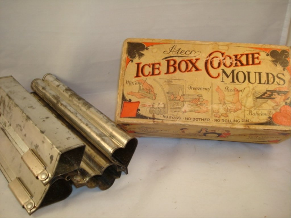 Ateco Ice Box Cookie Moulds in Box