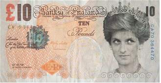 AFTER BANKSY- DI FACED TENNER, 10GB NOTE