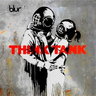 BANKSY X BLUR - THINK TANK 2 x LPs