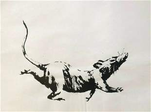BANKSY - GDP RAT