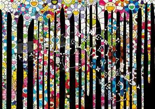"DEATH NYC - ""GLOCK FLOWER DRIP"" - MURAKAMI"
