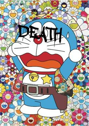 "DEATH NYC - ""DORAEMON DEATH 1"" - MURAKAMI"