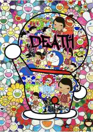 "DEATH NYC - ""BYE NOW DORAEMON"" - MURAKAMI"