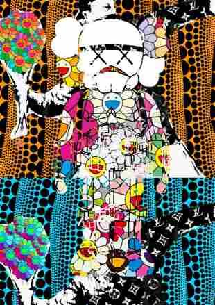 "DEATH NYC - ""X XTHROWER 5"" - BANKSY X KAWS"