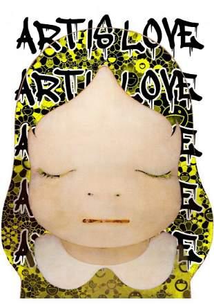 "DEATH NYC - ""ART IS LOVE 1"" -NARA"