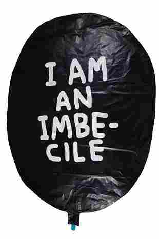 BANKSY - DISMALAND - I AM AN IMBECILE BALLOON - RARE