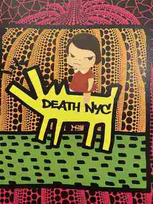 DEATH NYC - K N 47 - KEITH HARING X NARA